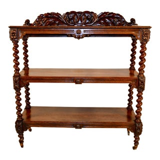 19th Century Oak Dumbwaiter From France For Sale