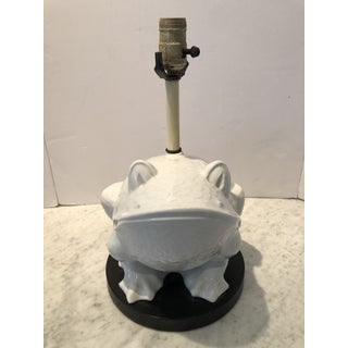 1960s Mid-Century Ceramic Frog Lamp Preview