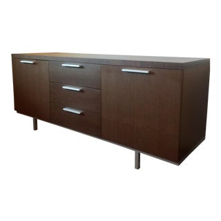 Calligaris Italian Modern Wood Credenza / Sideboard For Sale