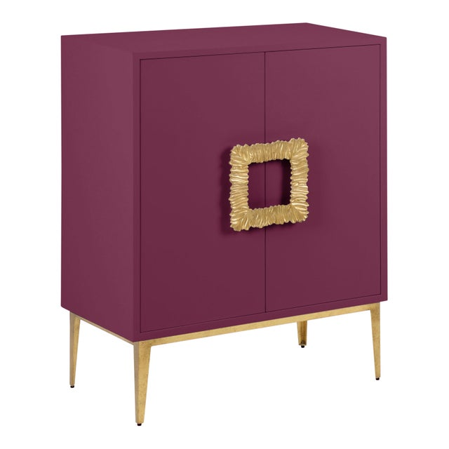 Transitional Mitchell Cabinet, Grape Juice For Sale - Image 3 of 3