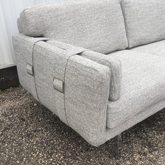 Fantastic loveseat. Buckle up with all new upholstery and foam cushions. Super comfy.