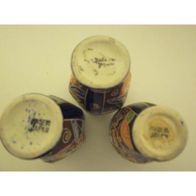 Vintage 1950s Japanese Satsuma Vases - Set of 5 - Image 10 of 11