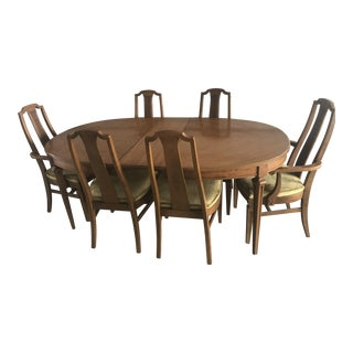 b9e1f88eeaf 1960s Mid-Century Modern Statesville Dining Set - 7 Pieces For Sale