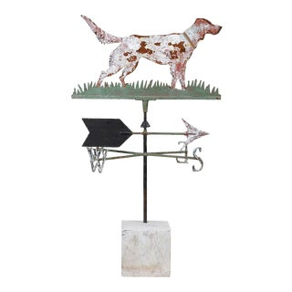 Vintage Dog Weathervane For Sale