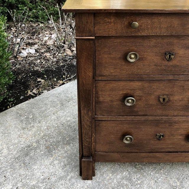 Empire 19th Century French Directoire Commode For Sale - Image 3 of 11