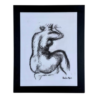 1960s Maillol Nude Silkscreen on Lucite by Modern Classics For Sale