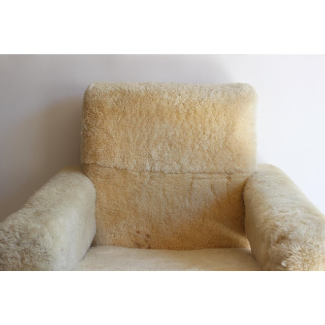"Textile Gerrit Rietveld ""Utrecht"" Style Chair For Sale - Image 7 of 13"