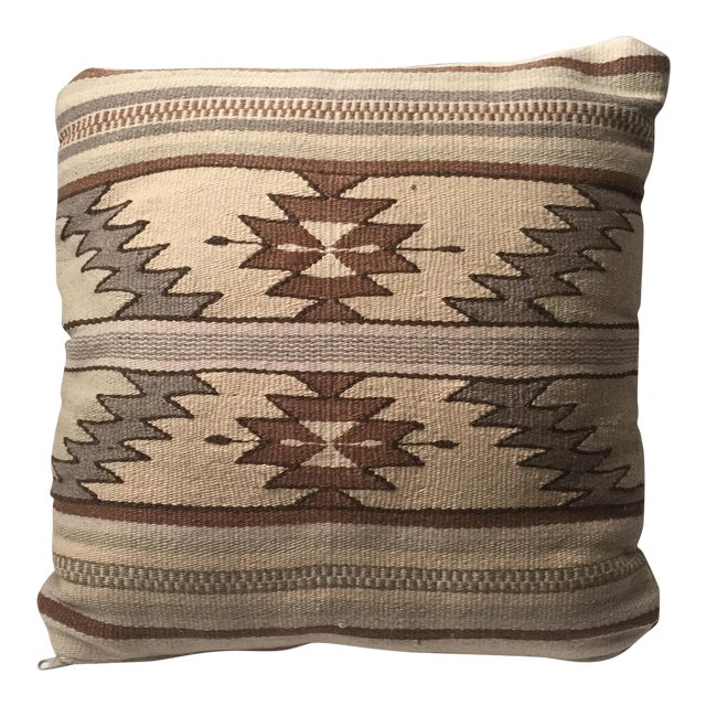 Southwestern Pillows And Rugs : Tan Southwestern Rug Pillow Chairish
