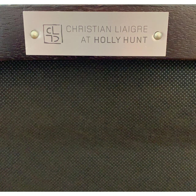 Animal Skin Christian Liaigre at Holly Hunt Mandarin Chair For Sale - Image 7 of 9