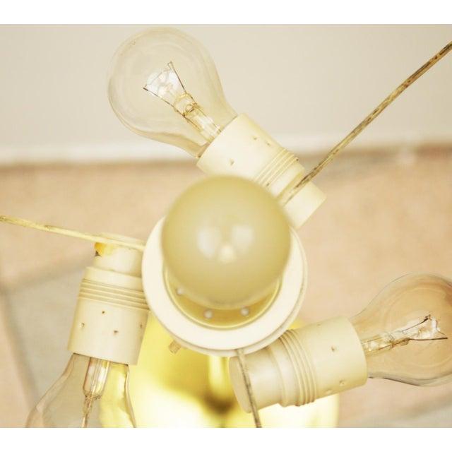 Brass Austrian floor lamp by JT Kalmar For Sale - Image 7 of 11