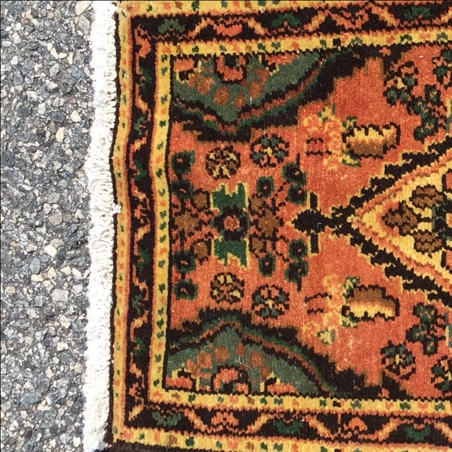 Hamadan Persian Rug - 1′6″ × 2′6″ - Image 4 of 9