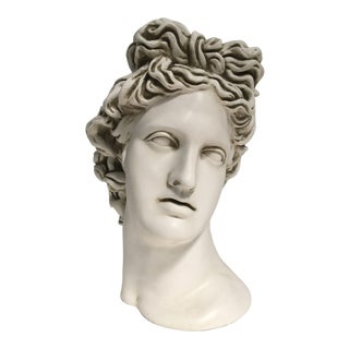 Greek Bust Head Planter For Sale