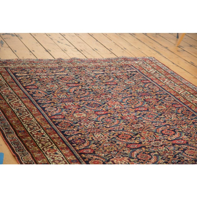 "Antique Malayer Rug Runner - 5'2"" X 9'9"" - Image 4 of 10"