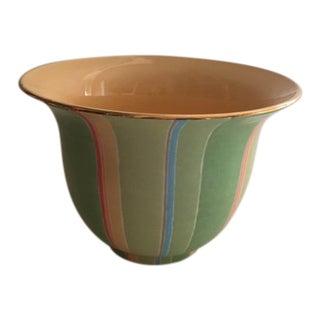 Jill Rosenwald Cache Pot/Bowl For Sale