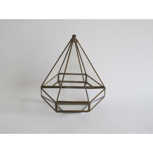 Mirrored Geometric Terrarium - Image 2 of 7