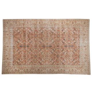 """Vintage Distressed Sivas Carpet - 6'7"""" X 10'4"""" For Sale"""