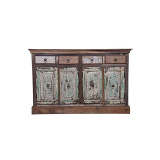 Rustic Norice Wooden Sideboard For Sale