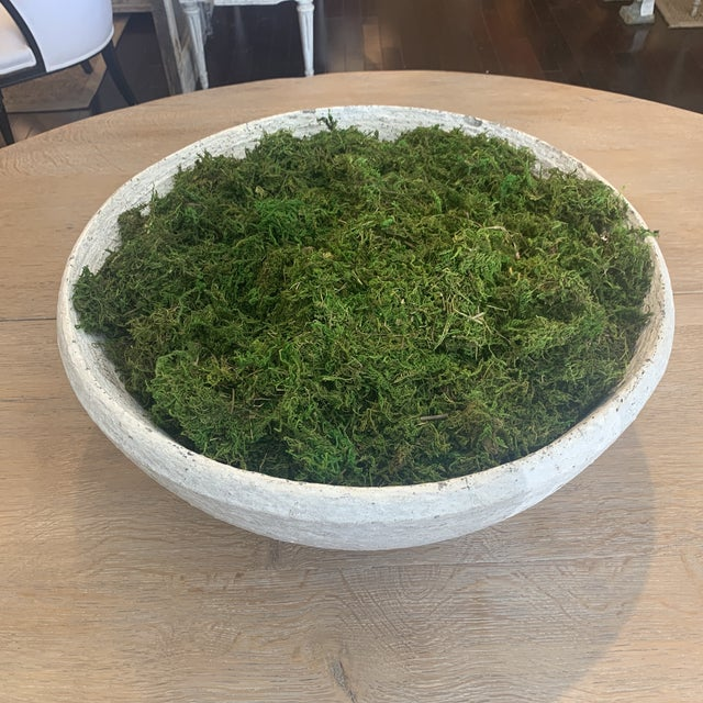 Vintage Concrete Bowl For Sale - Image 13 of 13