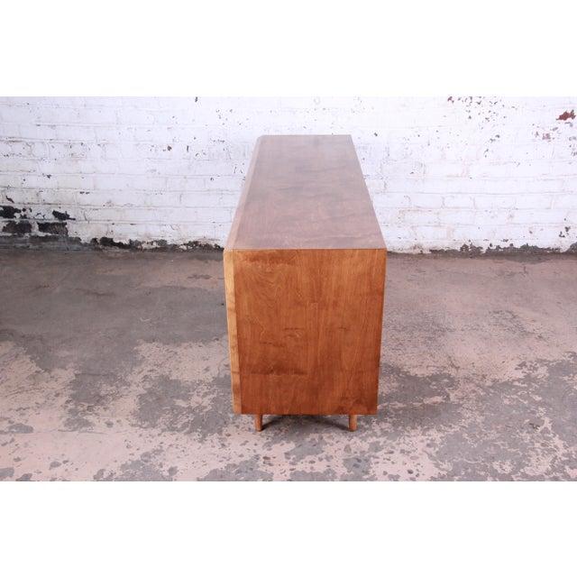 Edmond Spence Wave Front Long Dresser For Sale - Image 9 of 11