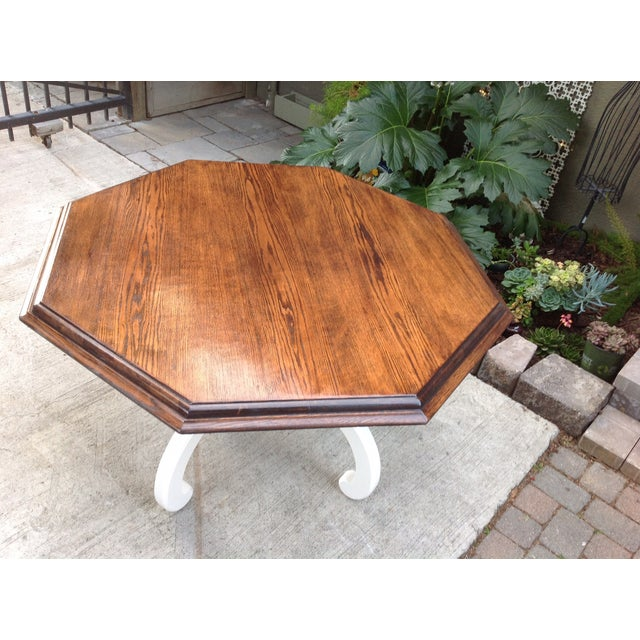 Vintage Octagonal Table - Image 2 of 5