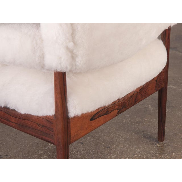 Kristian Vedel Sheepskin Modus Lounge Chairs - a Pair For Sale In New York - Image 6 of 13