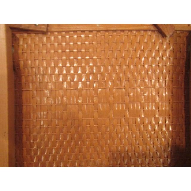 Vintage Picnic Basket Side Table - Image 11 of 11