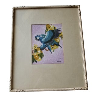 Parrot Painting by Bill Sass For Sale