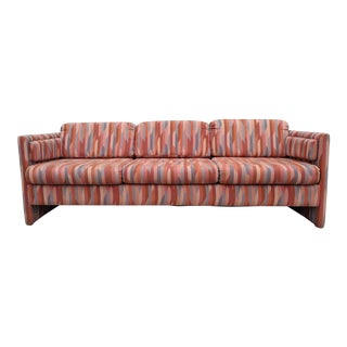 1980's Vintage Sofa With Original Southwest Style Fabric For Sale