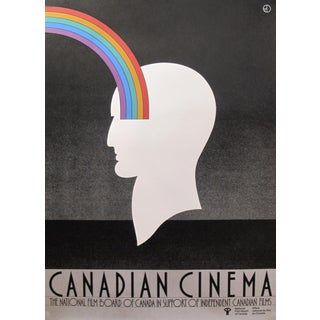 1980s Original Canadian Poster - Canadian Cinema by Theo Dimson For Sale