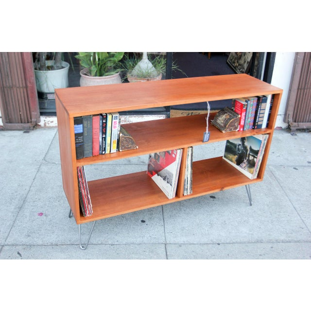 Not Yet Made - Made To Order Mid-Century Modern Solid Wood Hair Pin Leg Credenza For Sale - Image 5 of 12