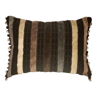 Contemporary Designer's Guild Velvet Throw Pillow For Sale