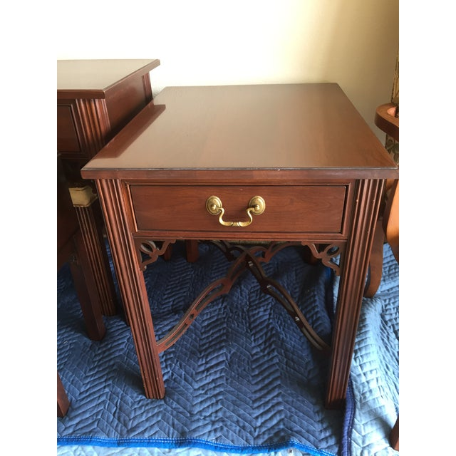 Ethan Allen Georgian Court Side Table - Image 3 of 3