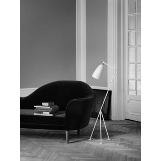 Greta Magnusson Grossman 'Grasshopper' Floor Lamp in Yellow Preview