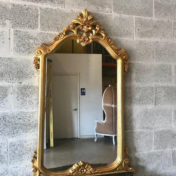 2010s French Louis XVI Console With Mirror For Sale - Image 5 of 10