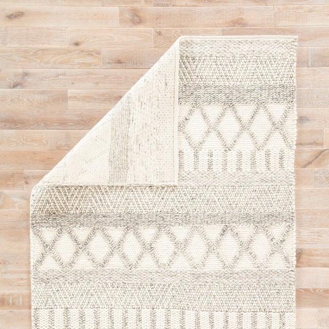 Jaipur Living Sandhurst Handmade Geometric Gray & White Area Rug - 8' X 10' For Sale - Image 4 of 6