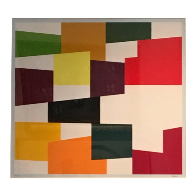 Yaacov Agam Untitled C.1970 For Sale