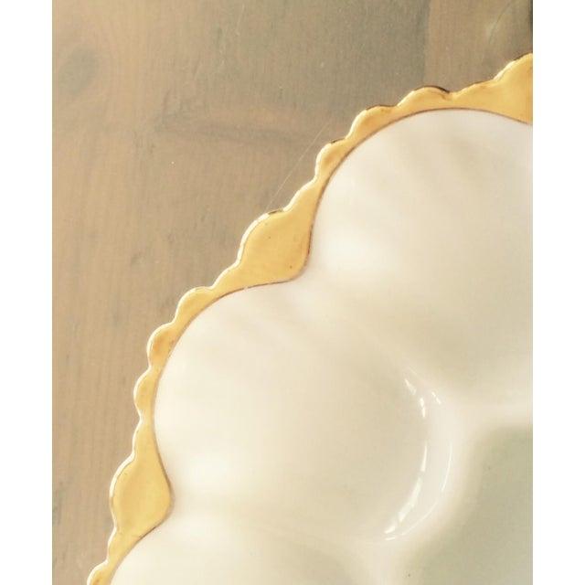 Vintage Deviled Egg or Oyster Platters - A Pair - Image 8 of 8