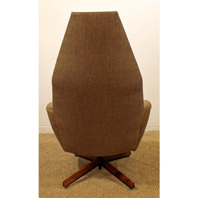 Mid-Century Modern Adrian Pearsall Lounge Chair & Ottoman 2174c For Sale In Philadelphia - Image 6 of 10