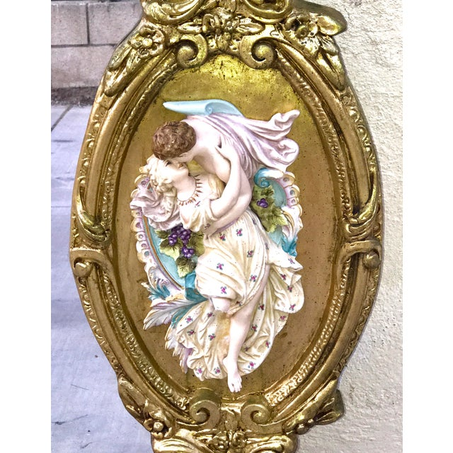 Antique Italian Rococo Gold Gilded Mirror - Image 6 of 10