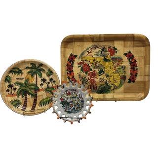 Vintage Florida Souvenirs - Set of 3