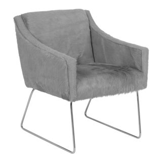 Modern Loraine Grey Chair For Sale