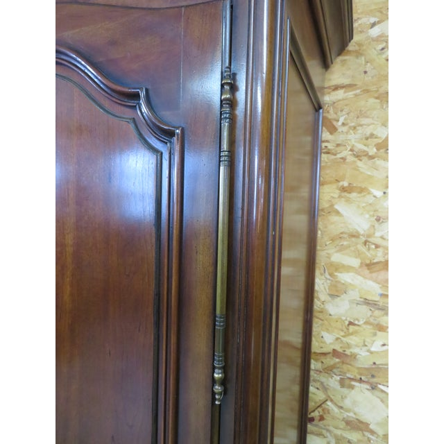 Century Furniture French Style Cherrywood Armoire For Sale In Philadelphia - Image 6 of 6