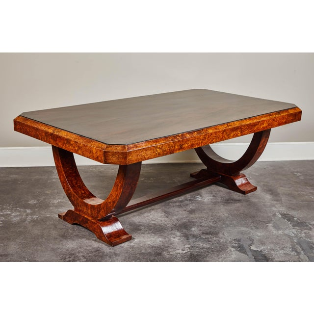 Early 20th C. French Colonial Art Deco Dining Table For Sale - Image 11 of 11