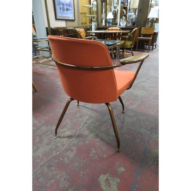 Baumritter Vintage Mid Century Modern Viko Baumritter Swivel Chair For Sale - Image 4 of 7