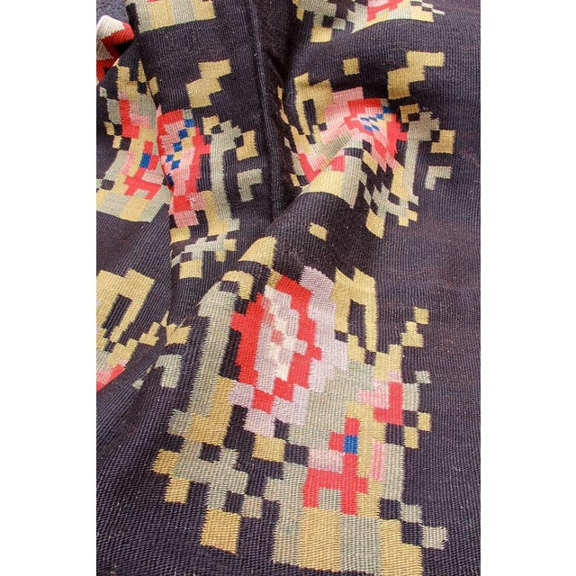 Early 20th Century Bessarabian Kilim For Sale - Image 5 of 6