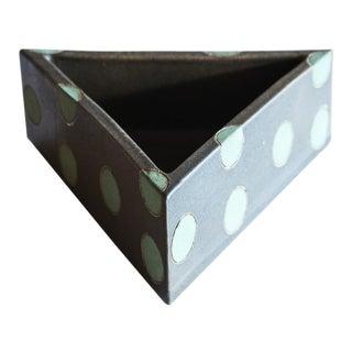 Elemental Triangular Polka Dot Vessel by Matthew Ward, New Mexico, 2019 For Sale