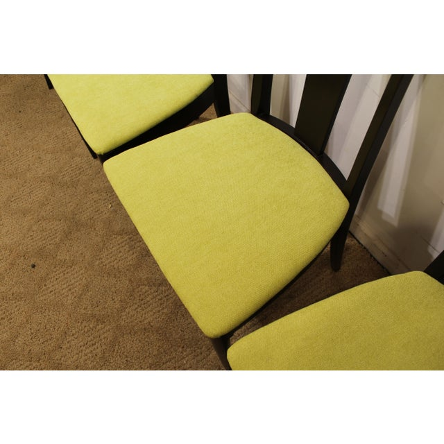Mid-Century Danish Modern Brasilia Dark Walnut Dining Chairs #5 - Set of 6 For Sale - Image 5 of 11