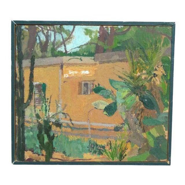 David Goodman Untitled Landscape Painting - Image 1 of 2