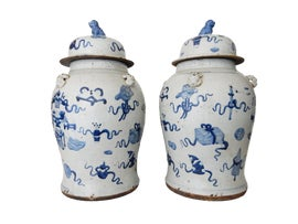 Image of Large Ginger Jars
