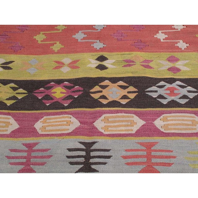 Textile Balkan Kilim For Sale - Image 7 of 7